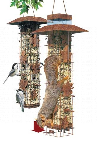Squirrel-Be-Gone Feeder